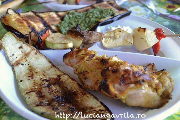 Grilled #chicken #tikka Pulpe de pui tikka la grătar