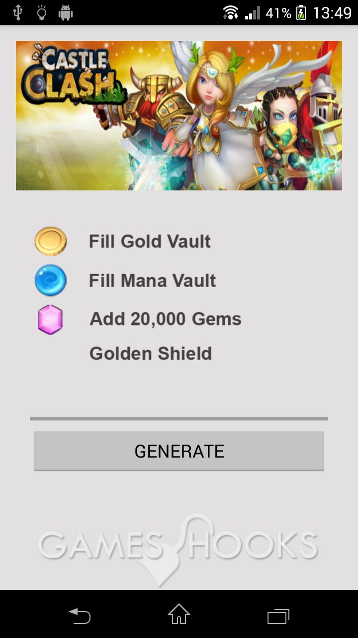 Castle Clash Hack (apk) Gold-Mana-Gems / Mod / Cheat / Tricks / Tips  Download Castle Clash MOD !