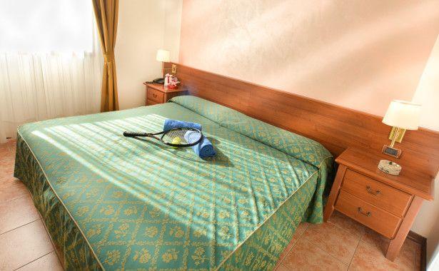 Camera matrimoniale-disponibile con Jacuzzi | Ancora Sport Hotel Venezia