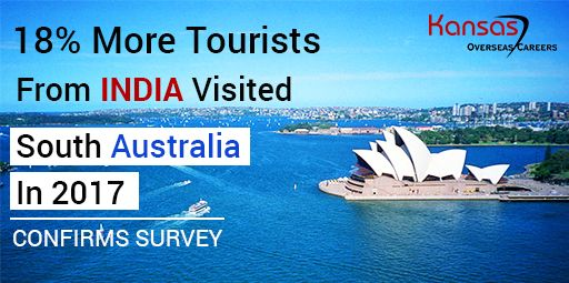 An International Visitor Survey by Tourism Research Australia confirmed that from September 2016 to September 2017, there has been an 18% increase in the number of Indians travelling to #SouthAustralia.
