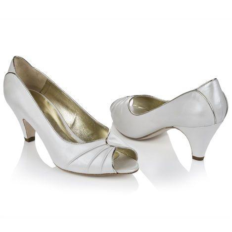 www.handmadeweddings.co.uk Rachel Simpson Shoes - Flo £155