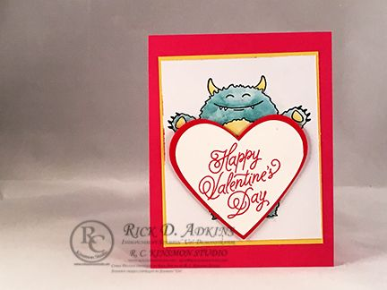 1545 best Valentine ideas images – Monster Valentine Cards