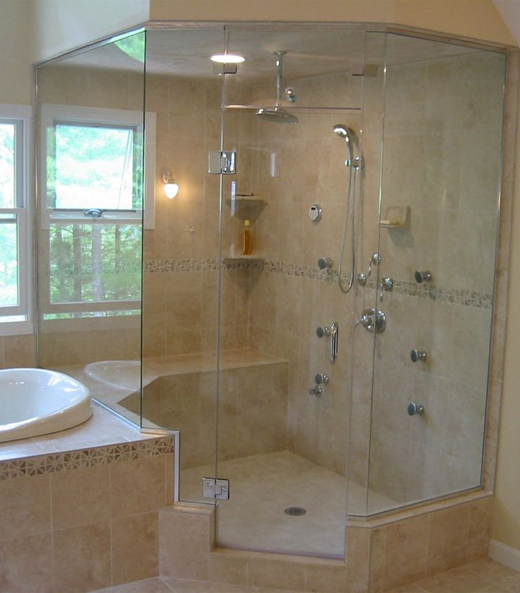 how to install neo angle shower doors
