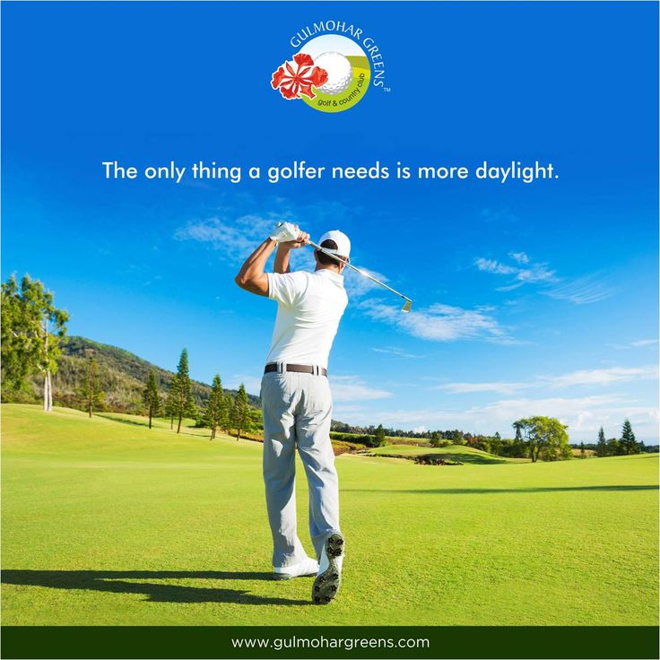 And you get all of that at Gulmohar Greens! Plan a day of golf. www.gulmohargreens.com