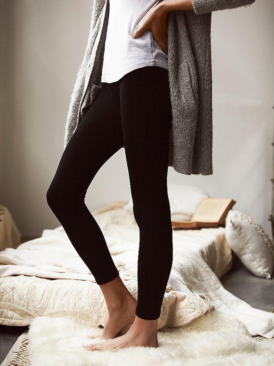 B123 Solid Seamless Ankle Leggings