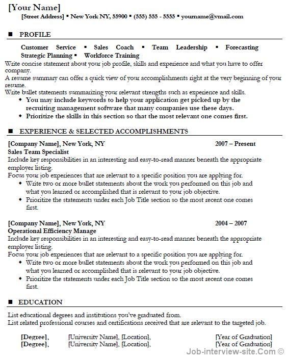 15 best images about Resume on Pinterest Free cover letter - pictures of a resume