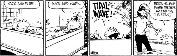 Calvin and Hobbes strip for October 4, 2016