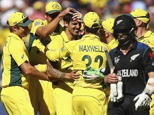 The Weekend Australian News Paper Australia v New Zealand - 2015 ICC Cricket World Cup: Final