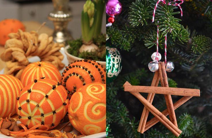 Väldoftande jul av kanel och apelsin