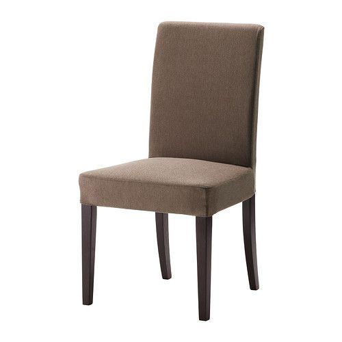 HENRIKSDAL Szék IKEA A magas háttámlának és poliészterrel töltött ülésnek köszönhetően kényelmesen ülhetsz.