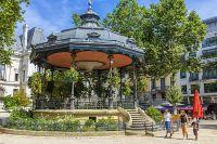 Hemis Cities : Saint-Etienne, Crédits : Franck Guiziou / www.hemis.fr France, Loire (42), Saint-Etienne, place Jean Jaurès, le kiosque à musique de Marengo