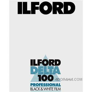 Ilford Delta Pro 100, 4x5 size, 25 Sheet  $32.95