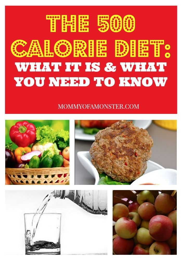 The 500 Calorie Diet: 10 Things I Learned In The First 20 Days
