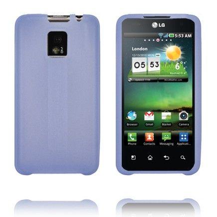 TPU Shell (Blå) LG Optimus 2X Deksel