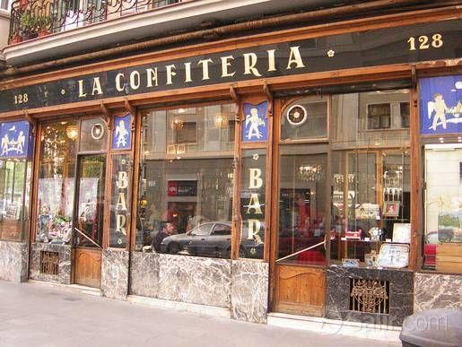 precioso bar en Barcelona