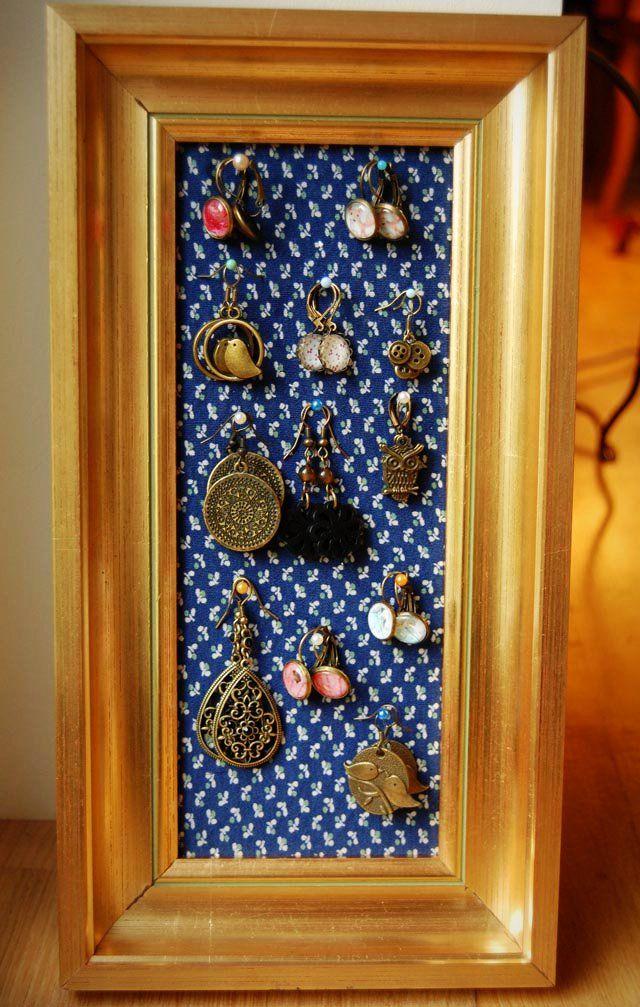 DIY jewelry display /// DIY-Schmuckhalter