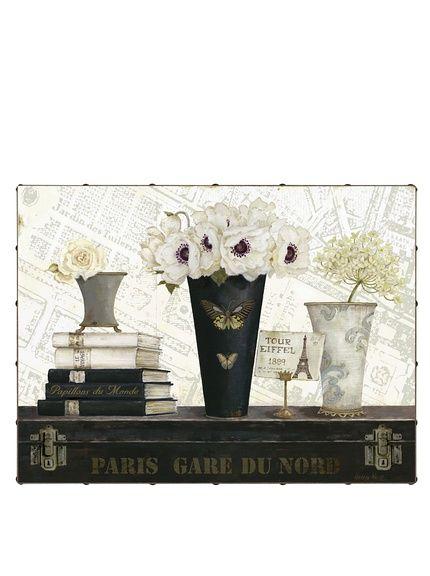 "Kathryn White Paris Gare du Nord Hand-Embellished Canvas, 30"" x 40"", http://www.myhabit.com/redirect/ref=qd_sw_dp_pi_li?url=http%3A%2F%2Fwww.myhabit.com%2Fdp%2FB007JG542M"