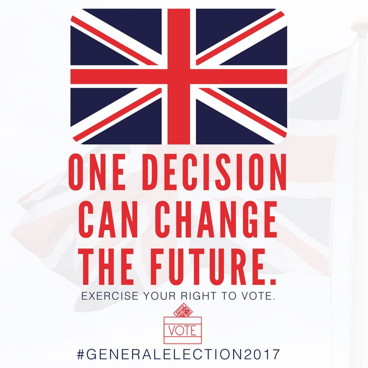 Are you ready to vote in today's General Election? Today is the day to have your say! #Vote2017 #GeneralElection2017 #GE2017 #VoteNow #VoteForChange #VoteToday #VoteVoteVote
