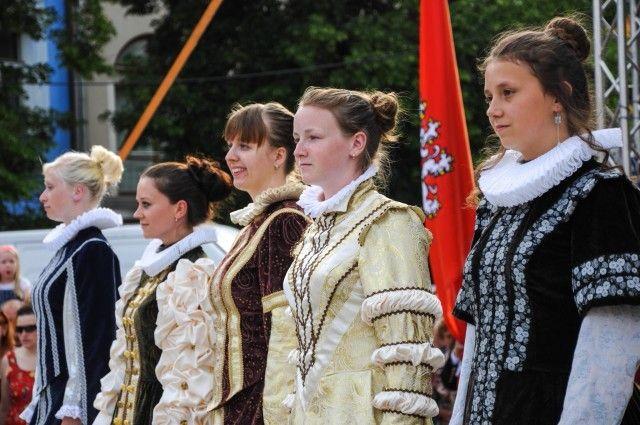 Jihlavas miners parade