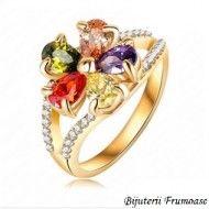 Inel Flower cu cristale austriece http://www.bijuteriifrumoase.ro/cumpara/inel-flower-cu-cristale-austriece-734