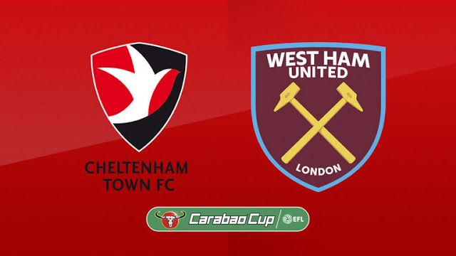 live football streaming free online espn | EFL Cup | Cheltenham Town VS West Ham United |  livestream | 23-08-2017