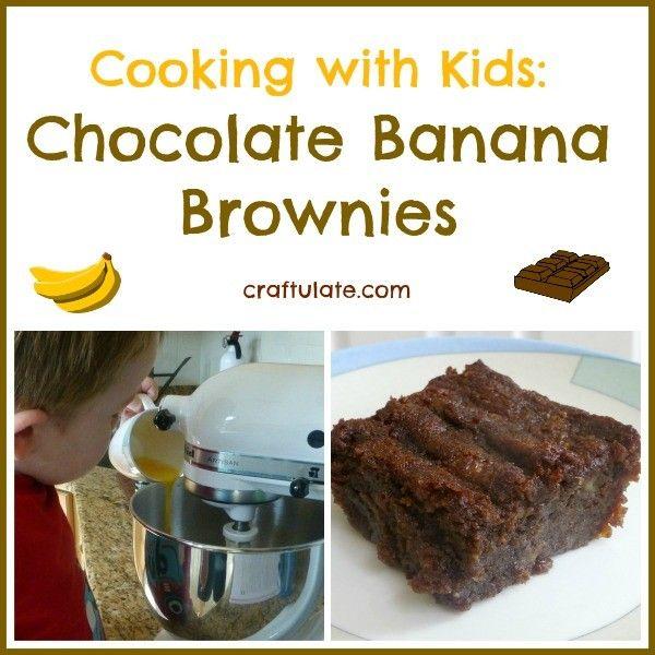 Chocolate Banana Brownies | Banana Brownies, Brownies and Bananas
