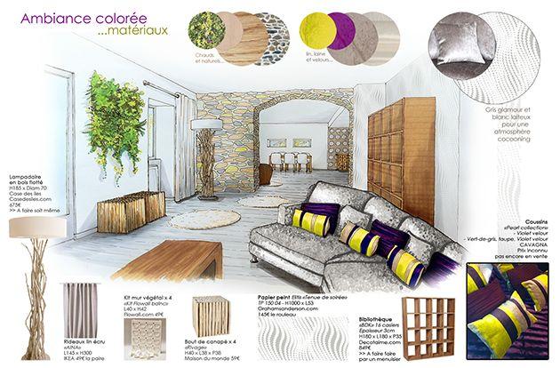 deco_p_10_17 Stéphanie Auzat décoration décoratrice aménagement_intérieur design architecture_d'intérieur dessin croquis perspective ozladec...