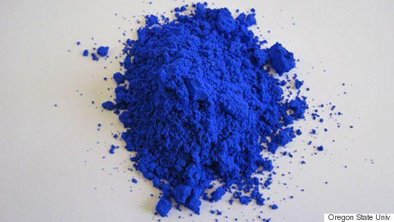 새로운 파란색을 과학자들이 우연히 발견했다