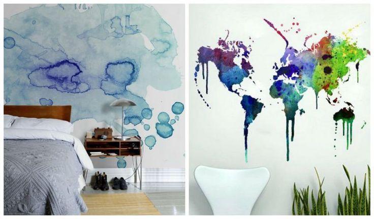 Ecco le idee più creative per creare delle pareti effetto acquerello, una tecnica che può essere realizzata anche con il fai da te per personalizzare la casa in modo originale.
