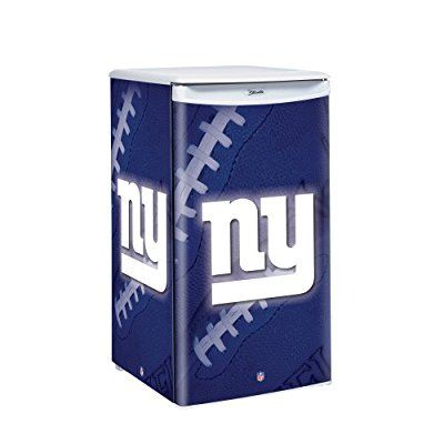 This one may be a little pricey, but the combination of an 84-beer-can capacity and the official licensing of the NFL logos clearly don't come cheap! It's just the right size for game day, and has sliding shelves that can be removed or adjusted.