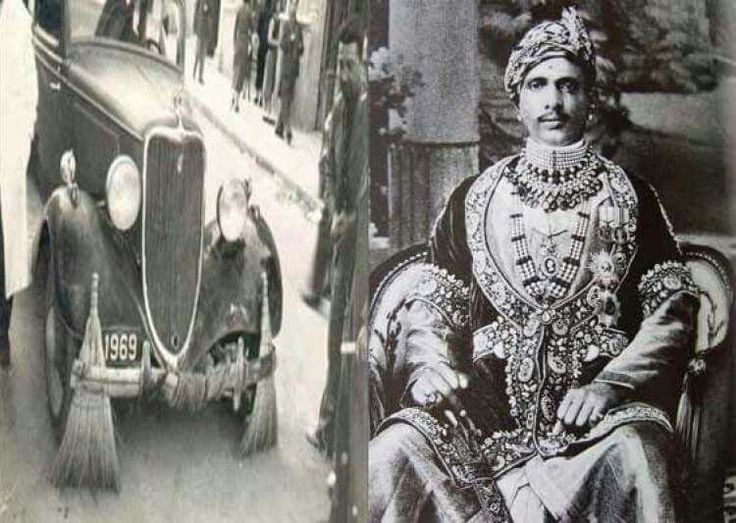 WEIRD WAYS OF THE INDIAN ROYALS  Maharaja of Alwar, Jai Singh The Maharaja bought seven majestic Rolls Royce cars and employed them as his garbage collection vehicles.