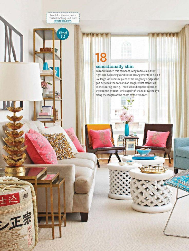 Narrow living room design  Living Room  Pinterest