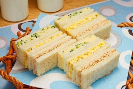 ポテトとツナと卵のサンドイッチ