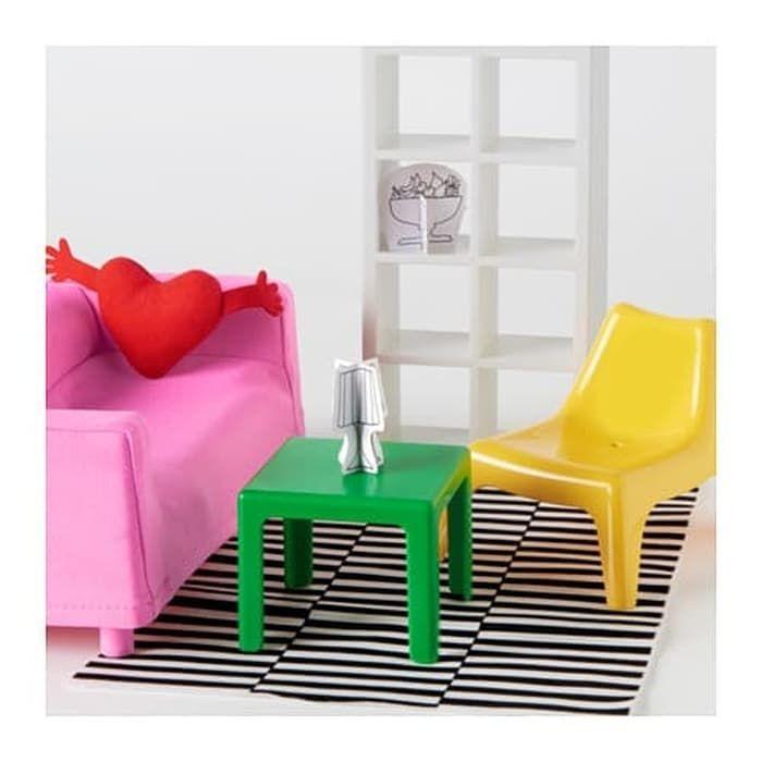 Mainan Anak Ikea Huset Perabot Ruang Tamu Boneka Doll Living Room Tentu Saja Kesayangan Harus Memiliki Rumah Yang Didesain Dengan Baik Pe