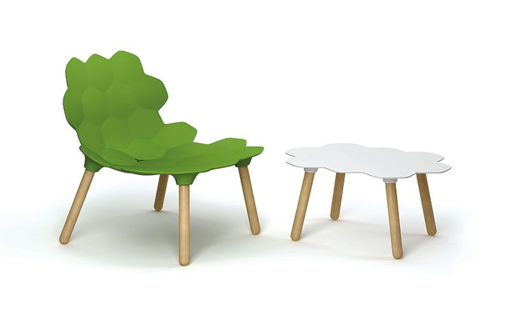 Tarta and Tarta table, by Slide Distributed by www.DzineElements.com  #chair, #table, #slide, #design, #interiordesign, #interiorinspiration, #DzineElements,