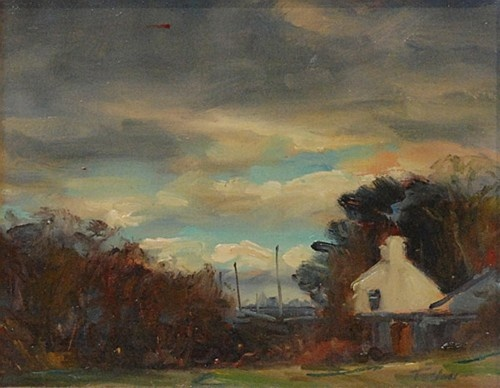 """Norman Teeling """"Country Cottage"""" #DukeStreetGallery"""