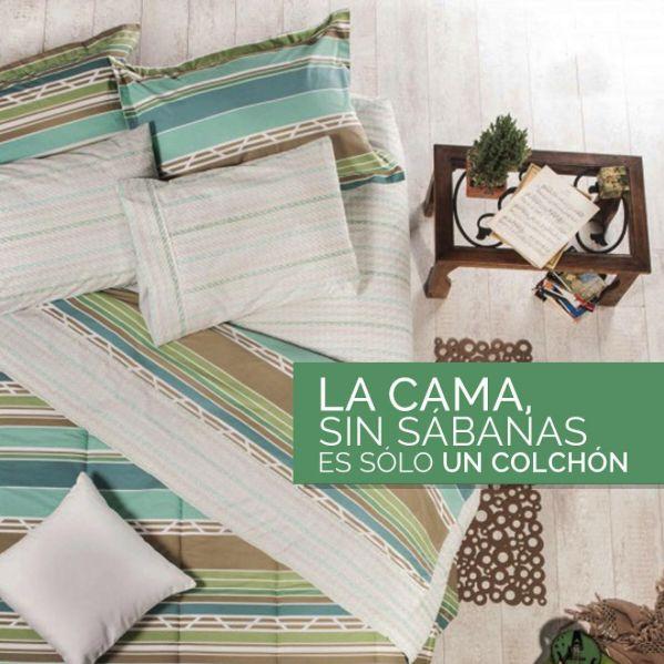 Para nosotros, una cama sin sábanas es sólo un colchón. Cuéntanos en un comentario en qué piensas cuando ves tu cama vestida con unas lindas #sábanas.