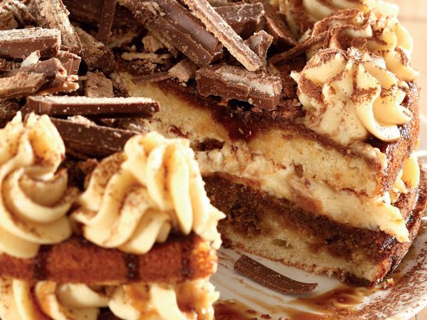 Tiramisu koek (cake) - In Afrikaans; can translate in link