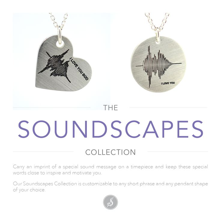 Always remember that special sound message and imprint it on a beautiful #silverpendant. Show someone your love and imprint your voice or heartbeat! #soundwaves #soundscapes #heartbeat #winnipegcustomjeweller #winnipegjewellery #silverjewellery #SuttonSmithworks #downtownWinnipeg #WinnipegJeweller