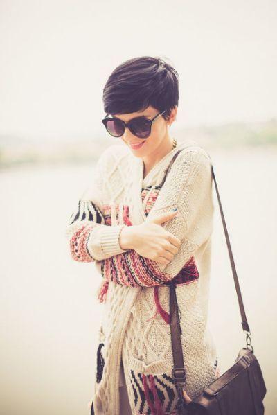 Die 25+ besten Ideen für braune Pixie-Haare –  – #Kurzhaarfrisuren