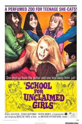 School for Unclaimed Girls (The Smashing Bird I Used to Know, aka Hell House Girls) (1969, UK)