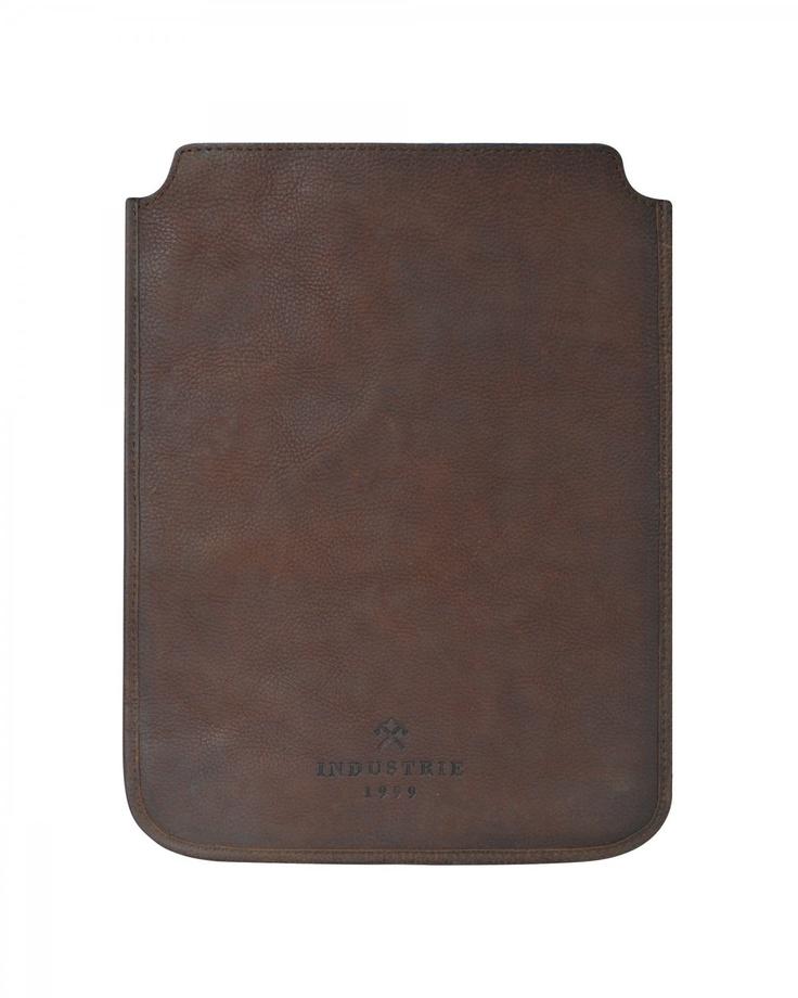 Leather Industrie iPad case