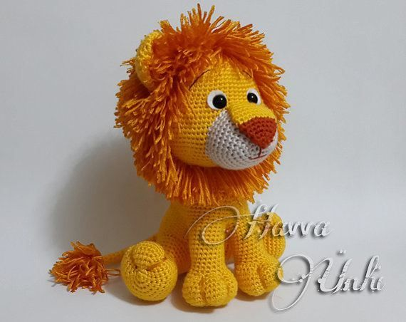 Amigurumi Lion Perriton : Welcome to havva designs patterns store this is an