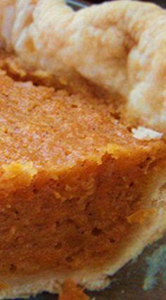 Amazing Sweet Potato Pie