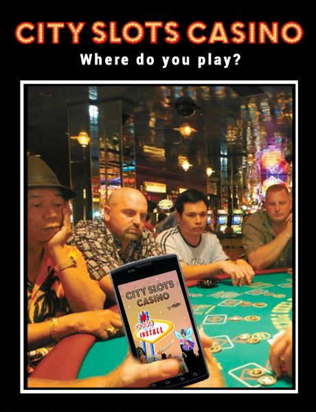 Where do you play City Slots? (Android Slots Game on Google Play)