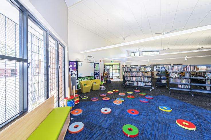 St Josephs School Library,Corinda,QLD. Furniture supplied by Raeco Library Solutions. www.raeco.com.au