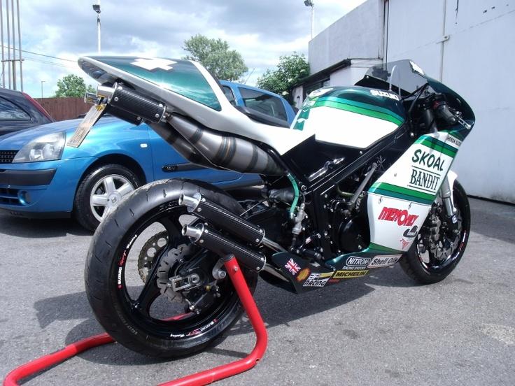 My Suzuki RG500 (570cc) Special. Skoal Bandit My Bikes
