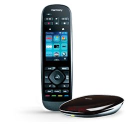 Logitech's new Harmony Ultimate - Universal remote with Harmony Hub RF receiver. A bit pricey but I suppose that's how you get ultimate control over your home theater devices.