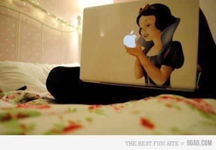Apple Laptop Sticker ( SUPER COOL!!!)