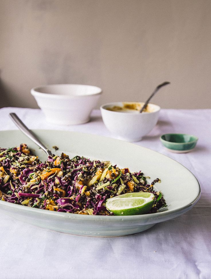Beluga lentils & butternut squash salad with a creamy lime & soy sauce - And a Friday Faves list! — Nourish Atelier